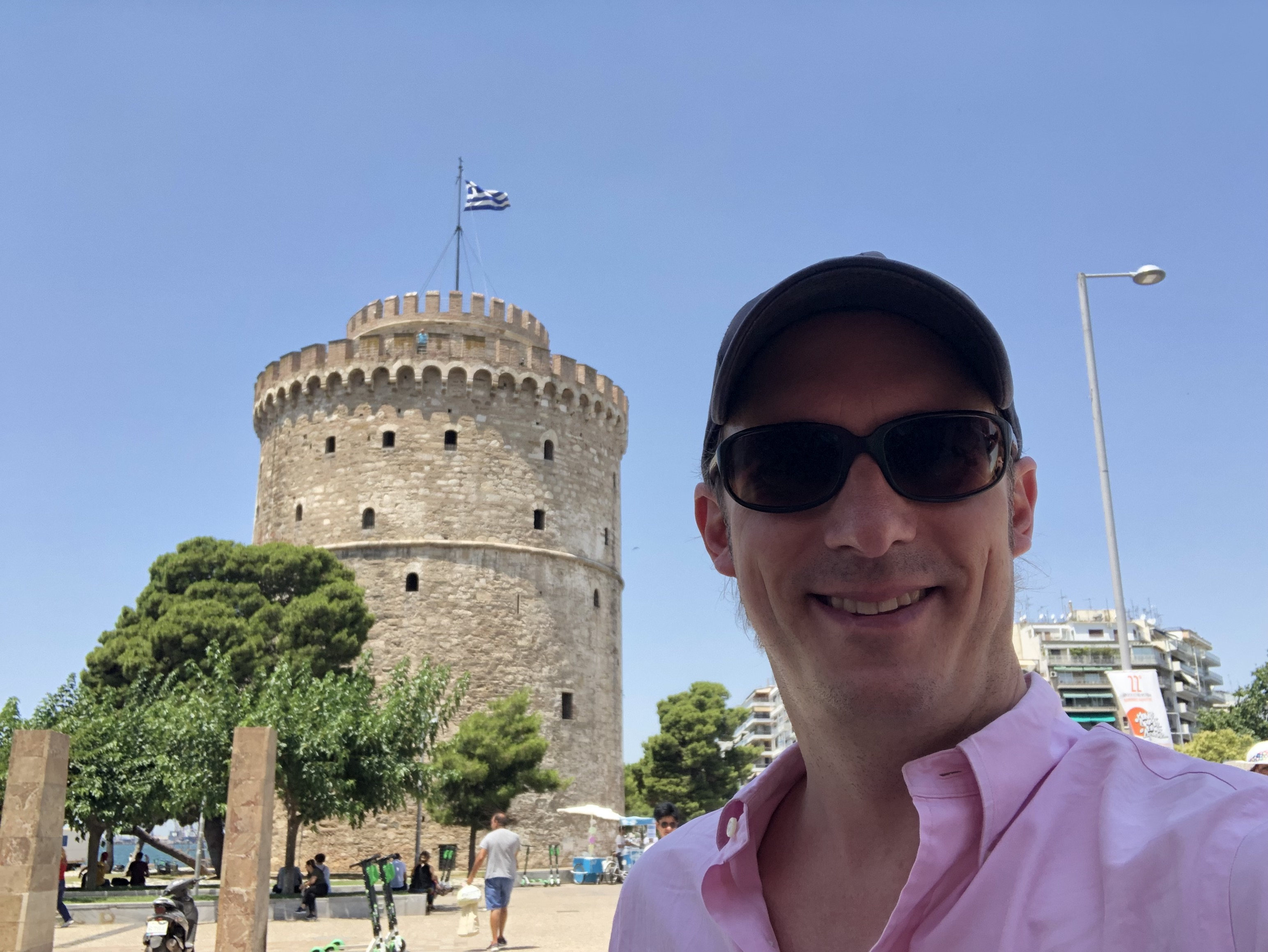 Ankunft in Griechenland, 36 Grad